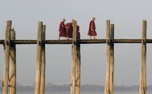 Monks on a bridge 641x400